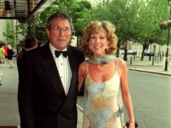 Mark Eden with wife Sue Nicholls (Michael Walter/PA)
