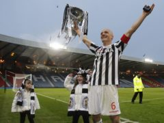 St Mirren's boss Jim Goodwin wants his players to sample their own taste of Hampden glory as he did back in 2013 (Danny Lawson/PA)