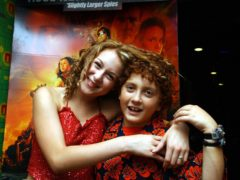 Alexa Vega (left) and Daryl Sabara starred in the original Spy Kids films (Myung Jung Kim/PA)