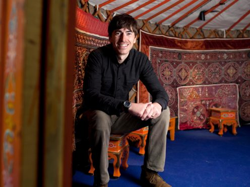TV adventurer Simon Reeve admitted he gets wound up by viewers who assume he is a 'toff' (David Parry/PA)