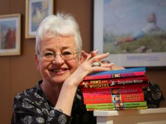 Dame Jacqueline Wilson is the first featured author (Gareth Fuller/PA)