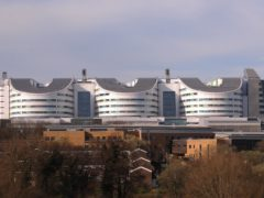 Kidney transplants have paused at Queen Elizabeth Hospital, Birmingham, because of Covid-19 (Joe Giddens/PA)