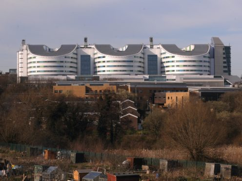Queen Elizabeth Hospital, Birmingham (Joe Giddens/PA)