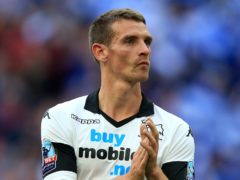 Craig Bryson tasted Wembley disappointment with Derby (Mike Egerton/PA)