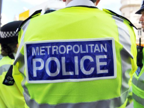 The Metropolitan Police said they saw a drop in the number of homicides in 2020 but an increase in domestic killings (Nick Ansell/PA)