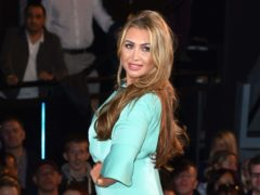 Lauren Goodger announced the news in a magazine (Ian West/PA)