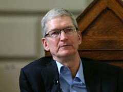 Apple chief executive Tim Cook (Niall Carson/PA)