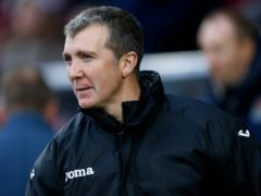 Jim Gannon made close to 500 appearances for Stockport and is into his third stint as manager of the club (Paul Harding/PA)