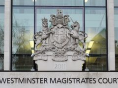 David Lufkin appeared at Westminster Magistrates' Court (Nick Ansell/PA)
