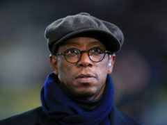 BT Sport Pundit Ian Wright during the FA Cup, fifth round replay match at the KC Stadium, Hull.