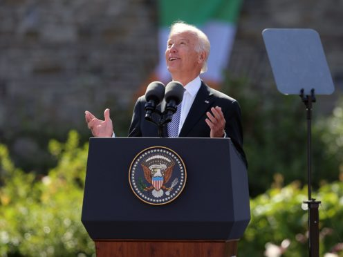 Joe Biden is the 46th president of the US (Niall Carson/PA)