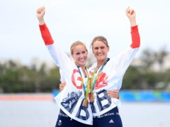 Double Olympic champion Helen Glover, left, has returned to the GB Rowing team (Mike Egerton/PA)