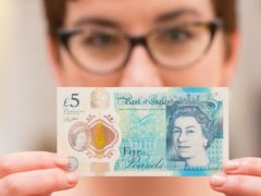 De La Rue produces the UK's polymer banknotes (Dominic Lipinski/PA)
