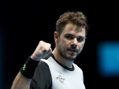 Stanislas Wawrinka, pictured, sensationally ended Novak Djokovic's 25-match winning run at the Australian Open on this day in 2014 (John Walton/PA)