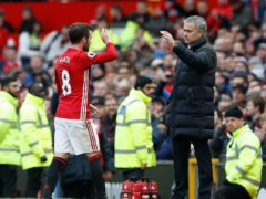 Juan Mata (left) was sold by Jose Mourinho at Chelsea but played for him again at Manchester United (Martin Rickett/PA)
