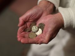 The average weekly cost of private residential care across Britain is £848, according to a study (Yui Mok/PA)