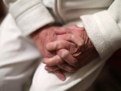 Care home residents account for 32.4% of all the Covid-19 deaths in England and Wales that have been registered so far (Yui Mok/PA)
