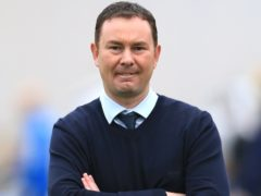 Morecambe boss Derek Adams, pictured, wants his side to stick to their attacking principles against Chelsea on Sunday (Nigel French/PA)