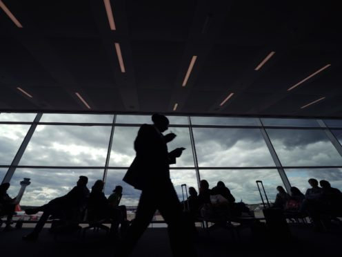 A new insurance card enabling UK travellers to access healthcare in the European Union has been launched (Yui Mok/PA)