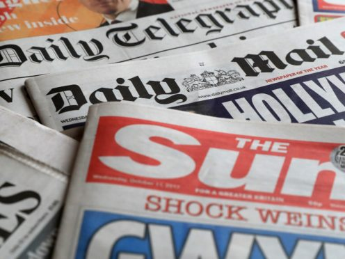 What the papers say – January 25 (PA)