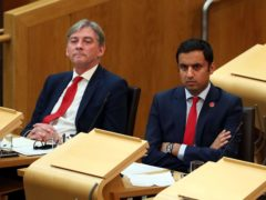 Anas Sarwar said former leader Richard Leonard has a 'big part' to play in the future of the party (Andrew Milligan/PA)