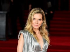 Michelle Pfeiffer (Ian West/PA)
