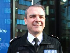 Sir David Thompson, chief constable of West Midlands Police (Richard Vernalls/PA)