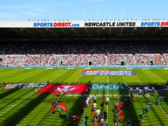 Newcastle United have been asked if they could host the Dacia Magic Weekend later this year (Richard Sellers/PA)