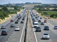 The average price motorists paid for their motor insurance during 2020 was at a four-year low according to the Association of British Insurers (Ben Birchall/PA)