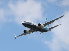 The Boeing 737 Max is to start flying again in Europe (Andrew Matthews/PA)
