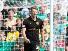 On-loan Livingston striker Jack Hamilton scored the winner on his Arbroath debut (Jeff Holmes/PA)