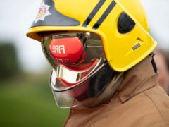Six crews were sent to tackle the fire (Jane Barlow/PA)