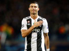 Juventus forward Cristiano Ronaldo enjoyed a night to remember (Martin Rickett/PA)