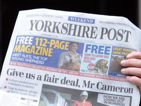 JPI owns the Yorkshire post, among other titles. (Stefan Rousseau/PA)