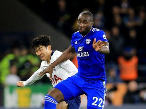 Cardiff defender Sol Bamba (right) has been diagnosed with Non-Hodgkin lymphoma (Mark Kerton/PA)