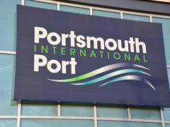 Portsmouth International Port (Ben Mitchell/PA)