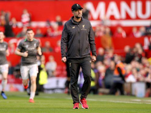 Liverpool manager Jurgen Klopp is good friends with former Manchester United manager Sir Alex Ferguson (Martin Rickett/PA)