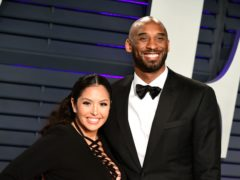 Kobe and Vanessa Bryant (Ian West/PA)