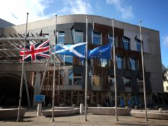 The Scottish Parliament rejected a Scottish Tory motion criticising the planning of another independence referendum during the pandemic (Jane Barlow/PA)