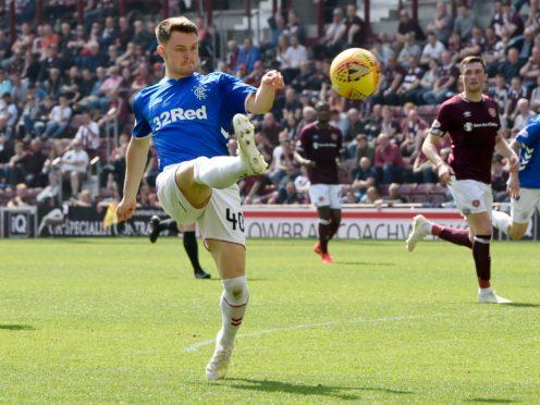 Glenn Middleton has joined St Johnstone on loan (Ian Rutherford/PA)