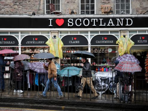 The research found many people believe the short-term letting industry could be important in encouraging visitors back to Scotland (PA)