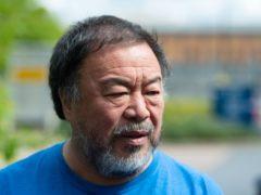 Artist Ai Weiwei (Dominic Lipinski/PA)