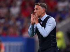 Phil Neville is stepping down after three years as England Women boss (John Walton/PA).