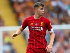 Liverpool striker Ben Woodburn had a disappointing loan spell at Blackpool and is back at Anfield (Barrington Coombs/PA)
