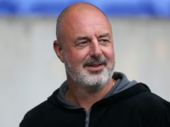 Keith Hill has called on Tranmere fans to support how he is trying to build at the club (Richard Sellers/PA)