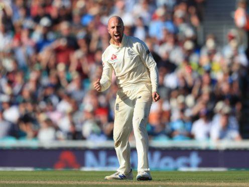 England's Jack Leach took five wickets (PA)