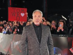 Sir Tom Jones (Peter Byrne/PA)
