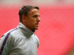 Phil Neville is stepping down after just under three years as England boss (Steven Paston/PA).