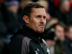 Paul Hurst lost his first game back as Grimsby manager (Jonathan Brady/PA)