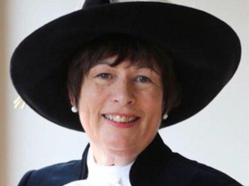 Former High Sheriff of Derbyshire Annie Hall (Derbyshire Police/PA)